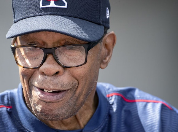 """The title of a new book coming out in May about Twins special coach Rod Carew is entitled, """"One Tough Out,"""" which describes both his hitting ability -"""