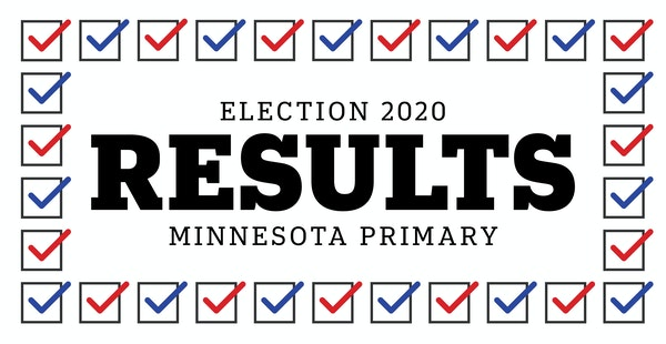 Minnesota primary results by county