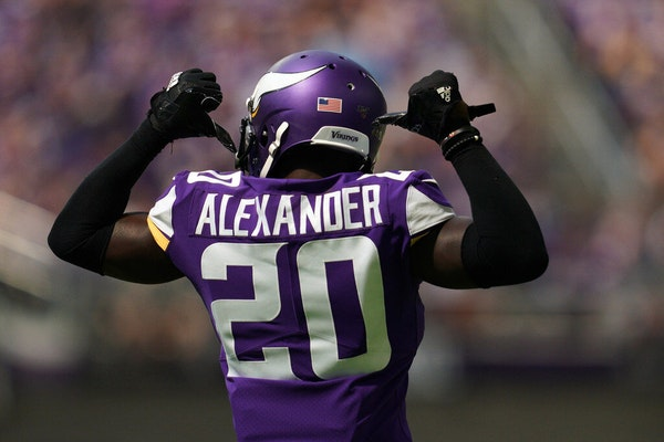 Vikings' Alexander medically cleared; did he play his way out of town?
