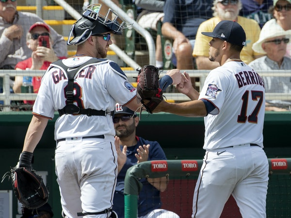 Six batters, four strikeouts: Berrios sharp in first exhibition appearance
