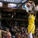 Daniel Oturu of the Gophers dunked during a game against Oklahoma earlier this season.