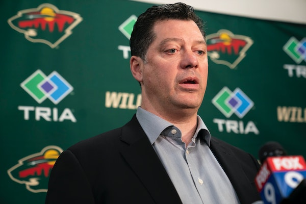 Wild General Manager Bill Guerin spoke about his decision to fire head coach Bruce Boudreau