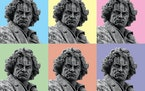 The moods of Beethoven illustration istock photo, Star Tribune illustration