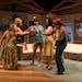 "Provided Bonni Allen, Jen Maren, Shana Eisenberg, Sara Marsh and Melinda Kordich in the Old Log production of ""The Dixie Swim Club."""