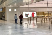Shoppers looked into the closed Apple Store at the Mall of America on Tuesday in Bloomington. In Minnesota, 4% of the state's workforce sought unemp