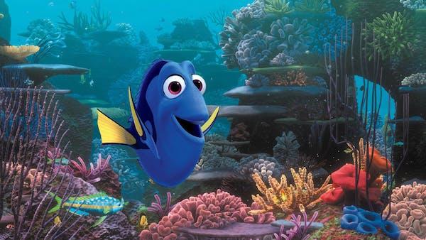 """Dory in """"Finding Nemo."""""""