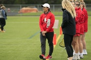 This spring's virus scare poses Benilde-St. Margaret's girls' lacrosse coach Ana Bowlsby difficulties for team bonding.