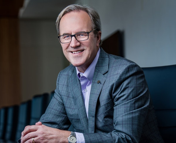 The effort began last month when Gov. Tim Walz reached out to Ecolab CEO Doug Baker, shown, who is an executive committee member of the Minnesota Busi