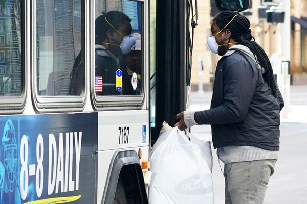 Beginning Monday, Metro Transit will require passengers aboard buses and trains to wear face coverings to help stem the spread of the coronavirus.