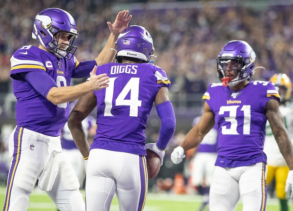 Cousins staying, Diggs going highlights day of turnover for Vikings