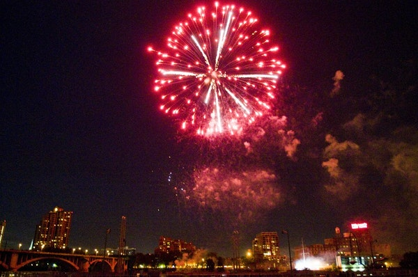 Minneapolis' July 4th fireworks celebration is on hold as part of the Park Board's actions in favor of social distancing.