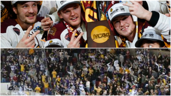 Frozen Four shelved, but your mythical winner is from Minnesota