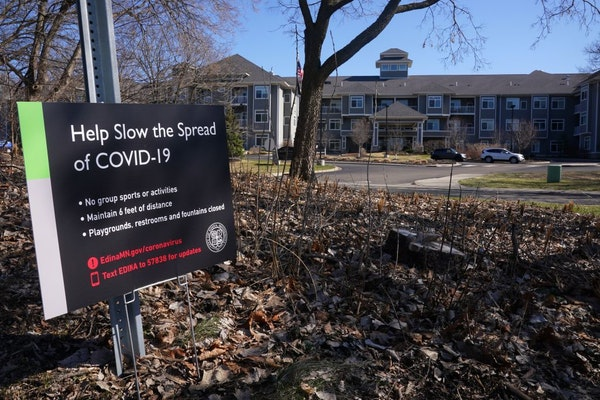 The Waters of Edina was one of four dozen facilities statewide reporting outbreaks of the coronavirus.