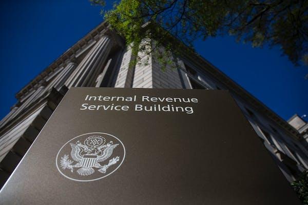 Foto de archivo de la sede del Servicios de Rentas Internas (IRS) en Washington. La agencia indicó en un tuit que las declaraciones de impuestos que