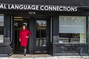 Khadija Ali's interpreting company is seeing a major decline in business as face to face interactions are limited. She is banding together with other