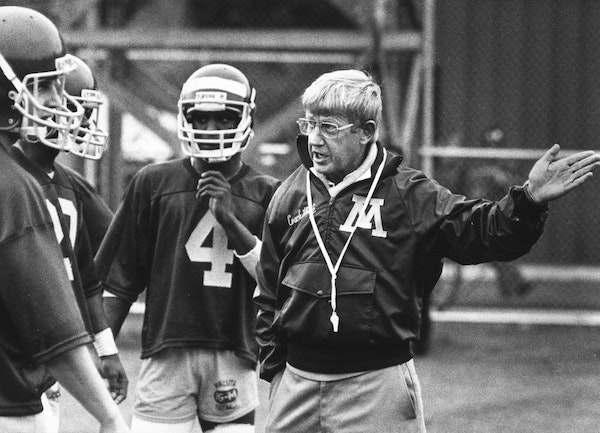 Holtz was building Gophers into a football power. What if he hadn't left?