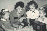 During the 1946 polio outbreak, the University of Minnesota radio station KUOM aired more than 150 hours of children's programs, including a show ca