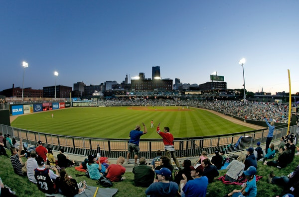 The St. Paul Saints will play 70 home games at CHS Field.