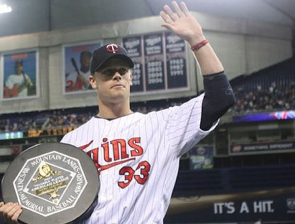 Justin Morneau, now a TV broadcast analyst for Twins games, has been given Opening Day first-pitch honors.