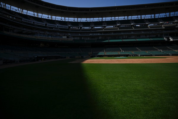 Baseball could be back next month — but not at Target Field