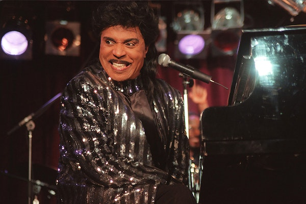 Little Richard performs at B.B. King Blues Club & Grill in New York, on June 25, 2000.