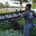 In August, Minneapolis park workers installed new placards to bestow the new lake name on the parkways surrounding while the fight played out in court