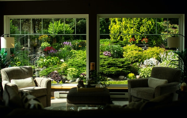 David and Sheila Aadland of St. Bonifacious converted a deck into a sunroom so that they could enjoy views of their garden year-round.