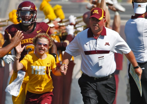'Marvelous Mia' is all grown up, and back at Gophers games