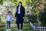 Jessica Aguilar and her daughter Aviana Castro, 3.