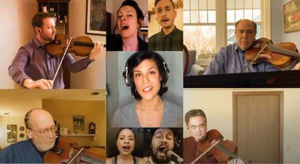 """See Dessa and Minnesota Orchestra's virtual reunion from """"Shine On MN"""" telethon"""