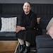 Target designer Stacey Monsen posed for a portrait at Target headquarters.