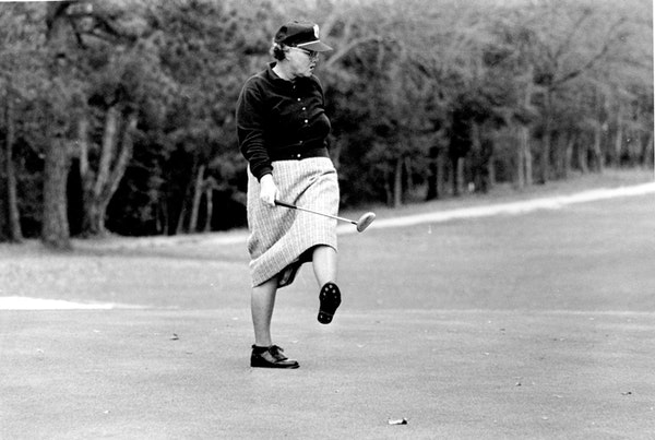 Minneapolis native Patty Berg was a women's golf pioneer who won 15 LPGA Tour major titles and was one of the 13 founding members of the tour in 1950.