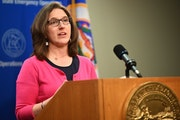 Minnesota Education Commissioner Mary Cathryn Ricker, shown in April.