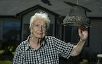 Nettie Thill hopes to age in place at her longtime home in Spring Lake Park, where she enjoys feeding the birds.
