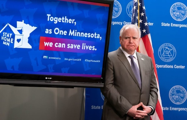 Governor Tim Walz and leaders from Mayo Clinic, the University of Minnesota, and other Minnesota health system leaders announced advances for COVID-19