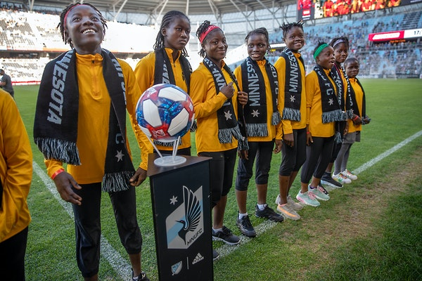 Monrovia Football Academy's U15 team was part of the USA Cup last summer.
