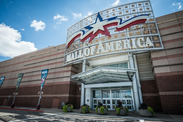 Mall of America in Bloomington.