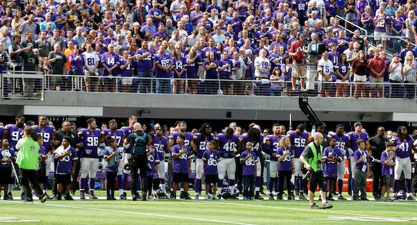 'My voice will be heard.' Vikings players talk about George Floyd