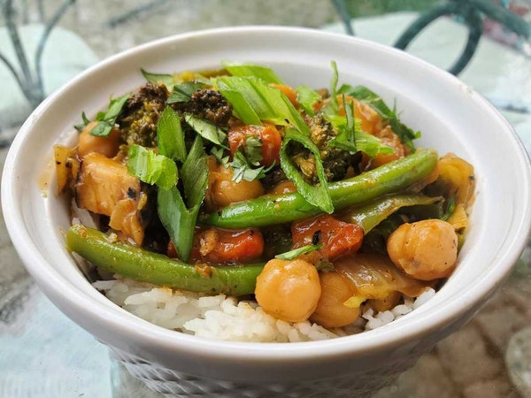 Yia Vang's Leftover Red Coconut Curry
