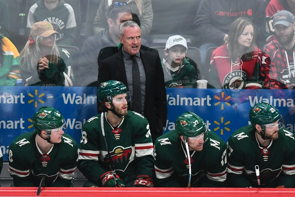 """""""We're just excited about the opportunity to battle for [the Stanley Cup]."""" Coach Dean Evason about the Wild being in the playoffs"""