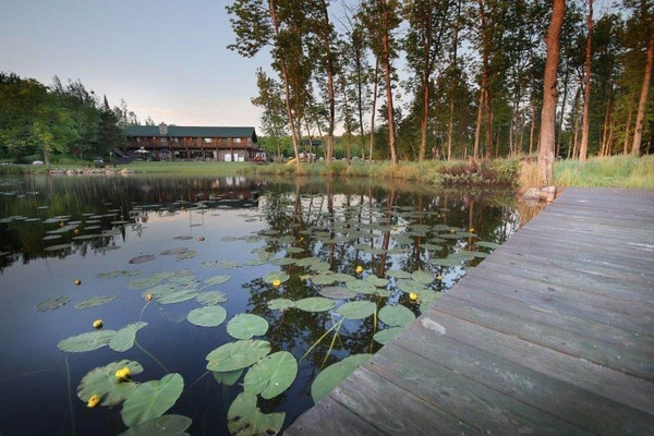 Melgeorge's Elephant Lake Lodge near Orr, Minn., offers lodge rooms and cabins.