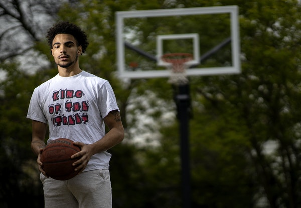 North High School football and basketball player C.J. Brown.