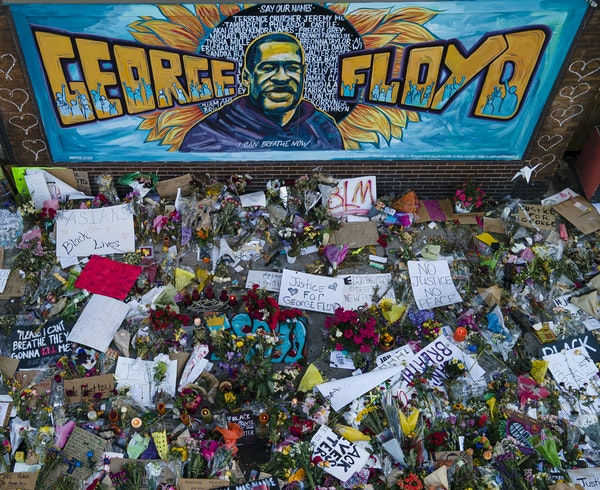 A mural outside Cup Foods, where George Floyd was killed on May 25, has been replicated around the world to honor him.