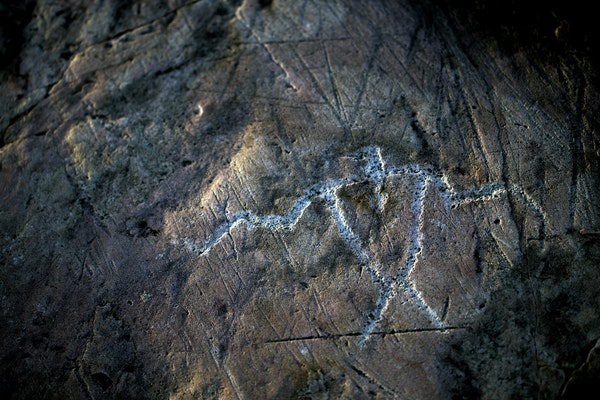 The Jeffers Petroglyphs site is an outcrop in southwestern Minnesota with pre-contact Native American petroglyphs. The earliest petroglyphs are estima