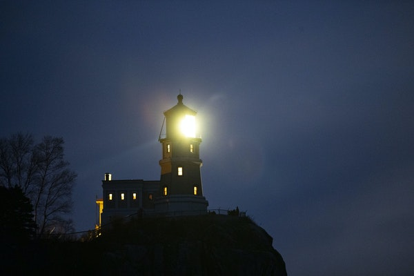 The Split Rock Lighthouse