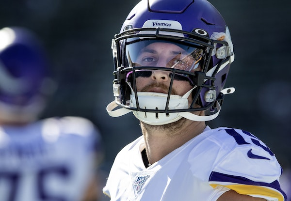 Wide receiver Adam Thielen turned his spring tryout into a roster spot and eventual stardom with the Vikings. Free agents this year won't have the sam