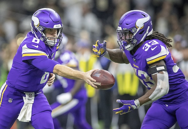 Kirk Cousins and Dalvin Cook were key figures in the Vikings offense last season.