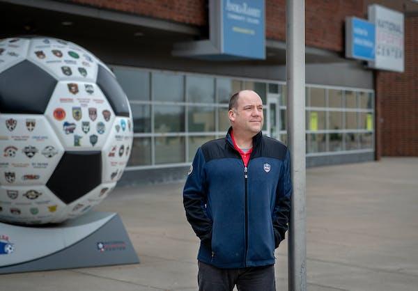 National Sports Center Executive Director Todd Johnson