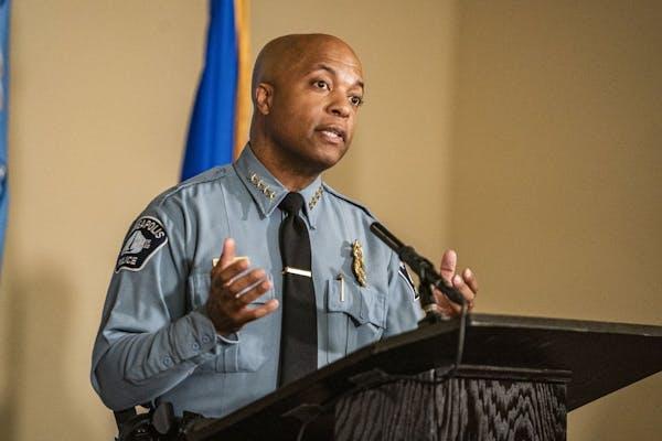 """It's time that we have to evolve,"" Minneapolis Police Chief Medaria Arradondo said Wednesday."