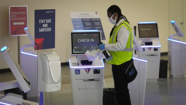 Minneapolis-St. Paul International Airport has stepped up cleaning its restrooms and public areas, especially at high-touch points.